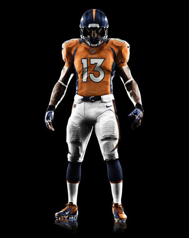2012 Denver Broncos Uniform