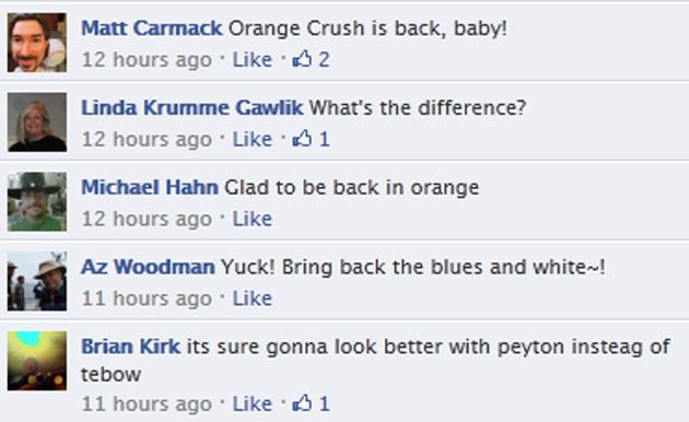 Denver Broncos Facebook Page