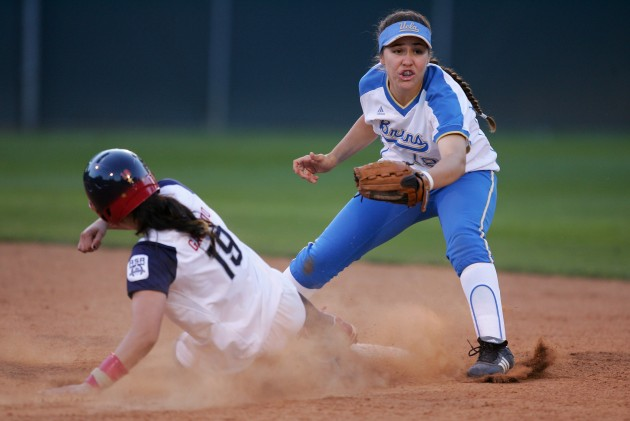 UCLA Softball vs. USA Softball - Robert Laberge/Getty Images