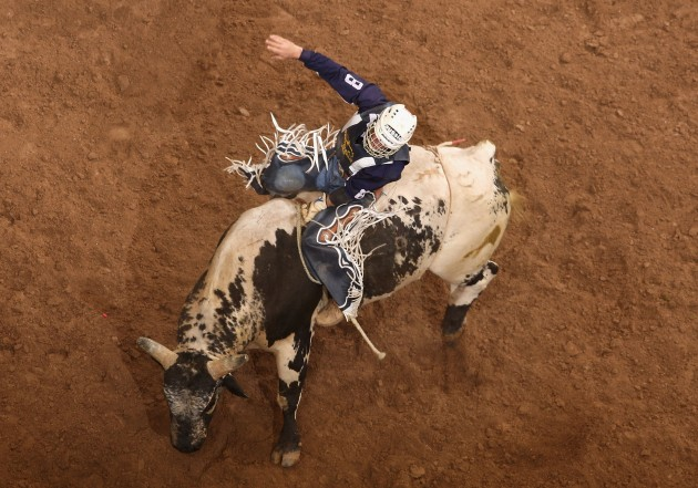 World's Toughest Rodeo - Getting Images