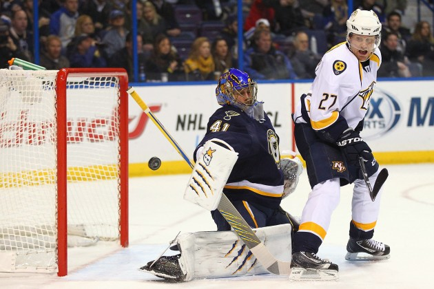 Nashville Predators v St. Louis Blues - Dilip Vishwanat/Getty Images
