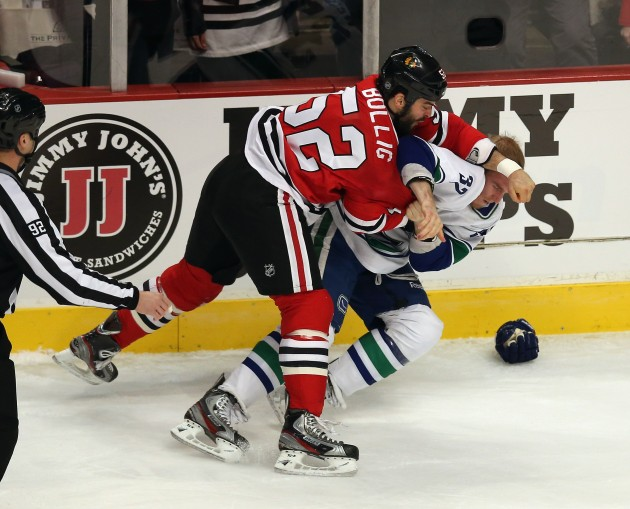 Vancouver Canucks v Chicago Blackhawks - Jonathan Daniel/Getty Images