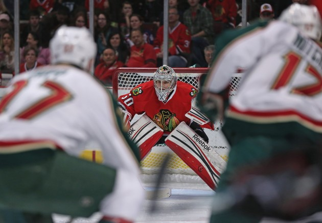 Minneosta Wild v Chicago Blackhawks - Jonathan Daniel/Getty Images