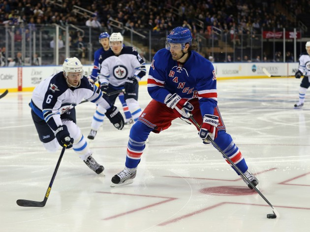 Winnipeg Jets v New York Rangers - Getty Images