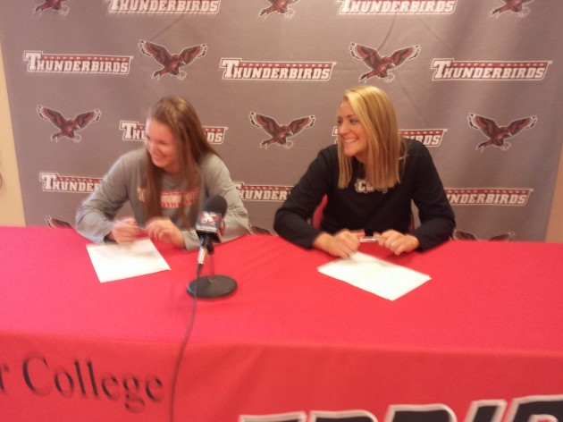 Two Casper College Volleyball Players Sign with Eastern Washington