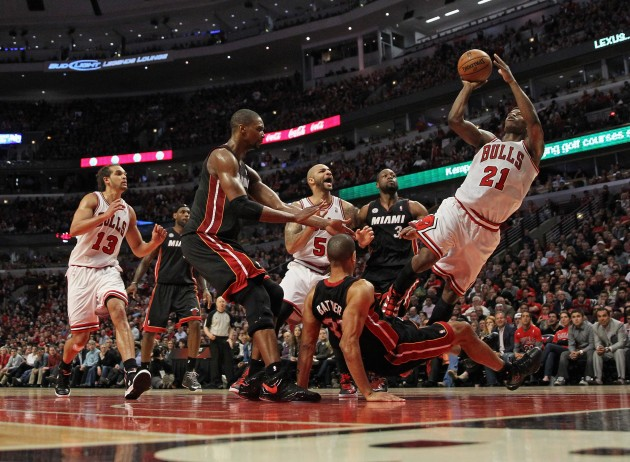 Miami Heat v Chicago Bulls - Jonathan Daniel/Getty Images
