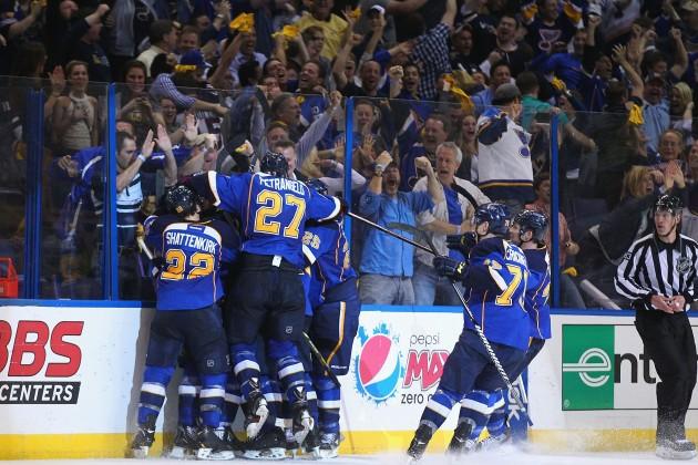 Los Angeles Kings v St. Louis Blues - Dilip Vishwanat/Getty Images