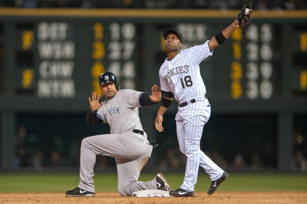 New York Yankees v Colorado Rockies - Dustin Bradford/Getty Images