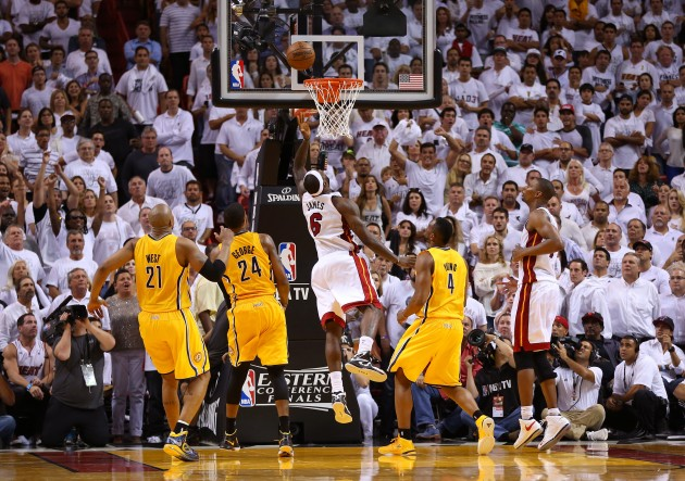 Indiana Pacers v Miami Heat - Game One - Getty Images