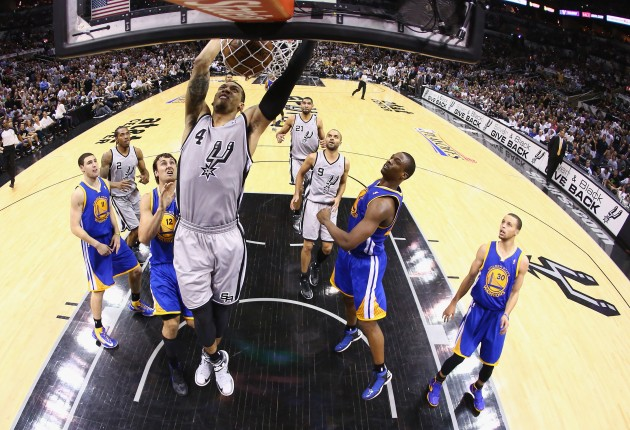 Golden State Warriors v San Antonio Spurs - Game Five - Ronald Martinez/Getty Images