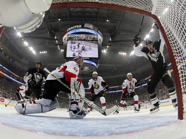 Ottawa Senators v Pittsburgh Penguins - Game One - Justin K. Aller/Getty Images