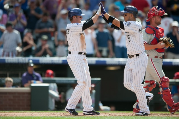Philadelphia Phillies v Colorado Rockies - Dustin Bradford/Getty Images