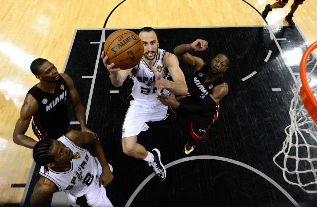 Miami Heat v San Antonio Spurs - Game 5 - Getty Images