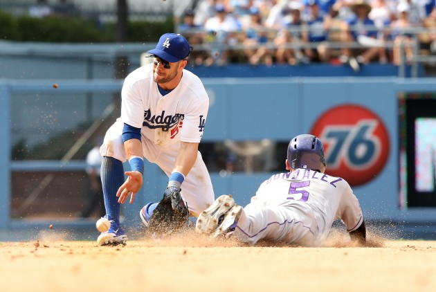 Colorado Rockies v Los Angeles Dodgers - Stephen Dunn/Getty Images