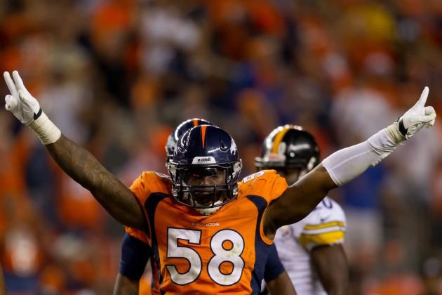 Pittsburgh Steelers v Denver Broncos - Justin Edmonds/Getty Images