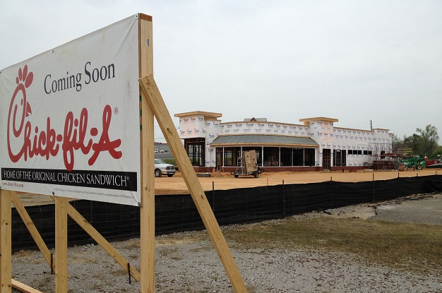 Chick-Fil-A Coming
