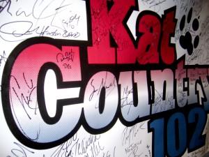 Kat Country 102 Banner