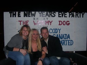 new years eve at the Wormy Dog