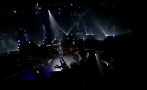screenshot of CMT CROSSROADS Jason Aldean Bryan Adams