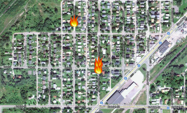 Three Arson Fires in West Duluth May 22