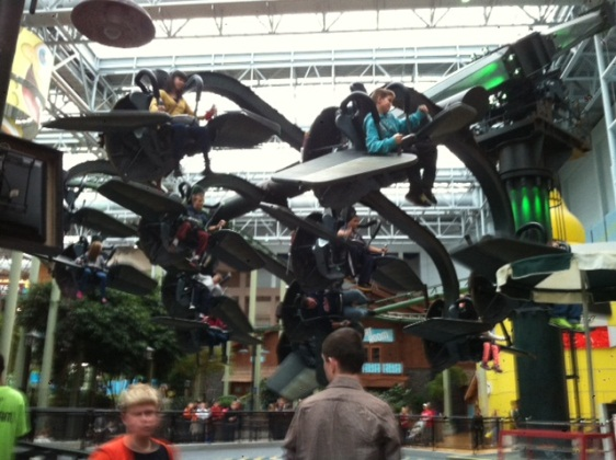 Ninja Turtle Shell Shock Ride MOA