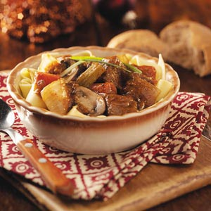 Taste of Home's Northwoods Beef Stew