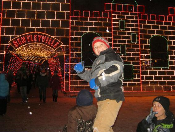 bentleyville tour of lights, Duluth, MN