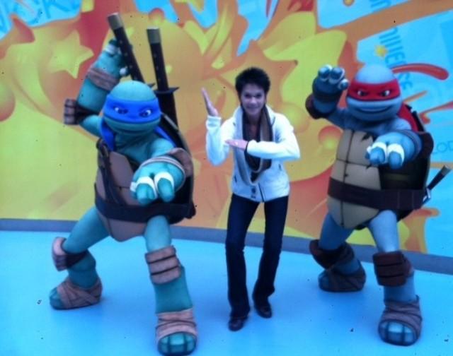 ninja turtles at MOA cathycation