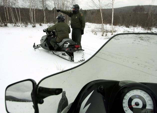 Snowmobile the Superior Trails