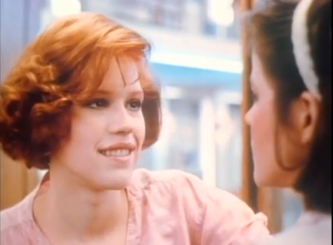 Brat Pack Molly Ringwald