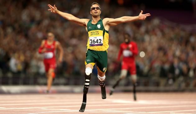 Olympian Oscar Pistorius