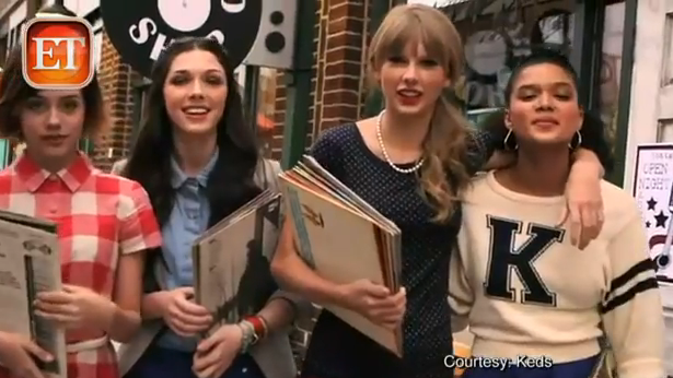 Taylor Swifts KEDS Commerical
