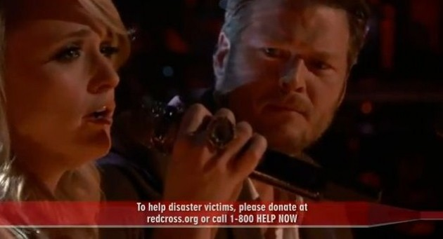 blake shelton and miranda lambert over you