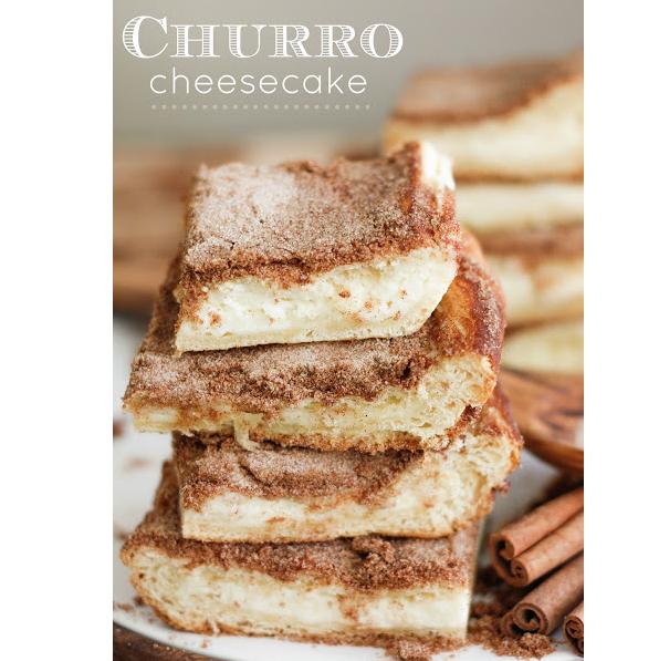 churro cheeseake