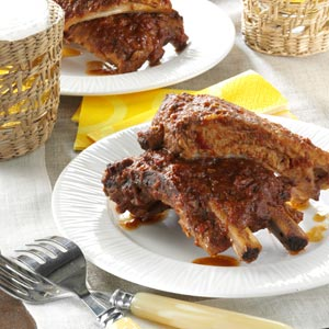 Taste of Home's Root Beer BBQ Ribs