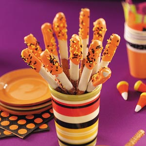 Taste of Home Halloween Pretzel Treat Recipe