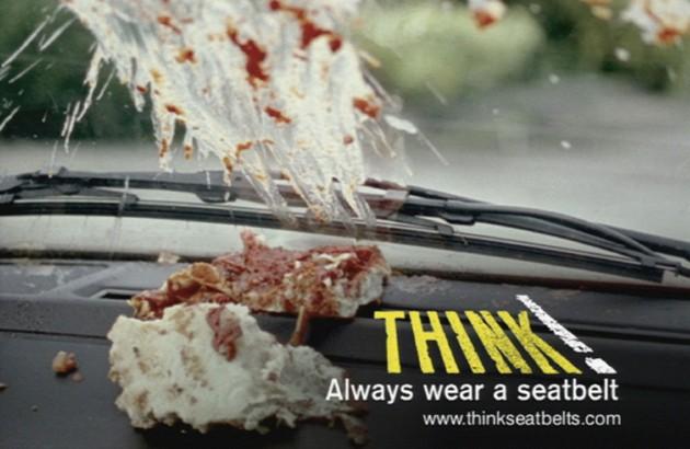 Always wear a Seatbelt