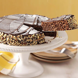 taste of home chocolate espresso nut torte recipe