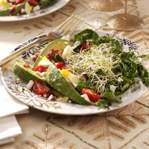 Kale and Bacon Salad with Honey-Horseradish Vinaigrette Recipe