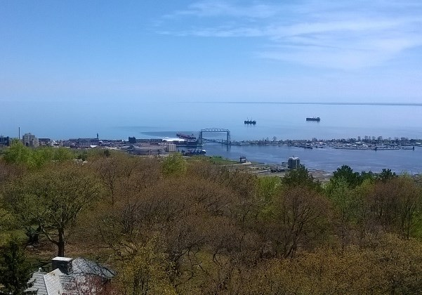 City of Duluth View from Enger Tower