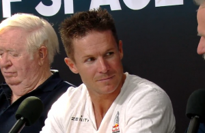 Felix Baumgartner at Press Conference