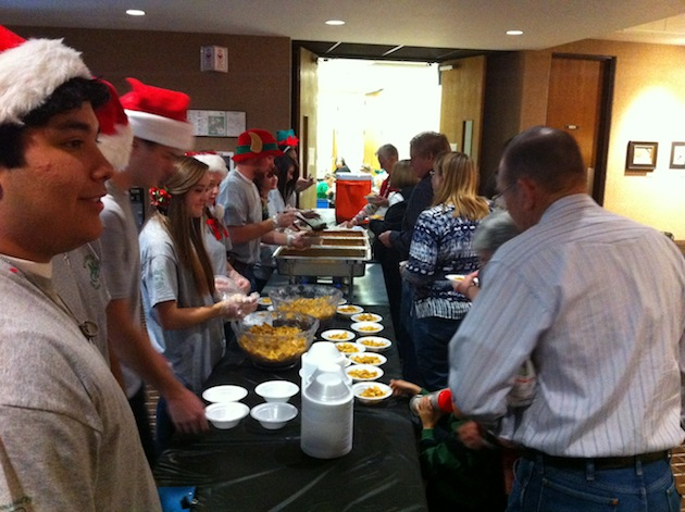 Students serve up frito pie