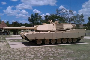 M1A1D Abrams Tank - Fort Hood, TX