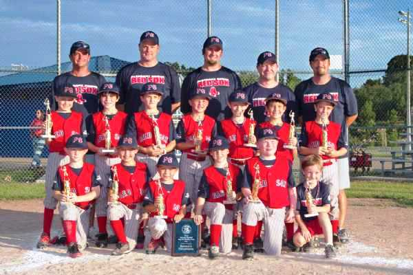 PG RedSox District Champs