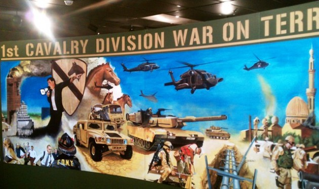 War on Terror Mural - Fort Hood, TX
