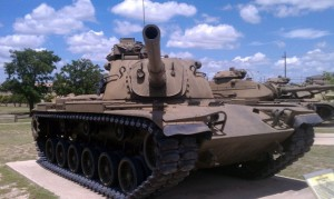 M60 Patton Tank - Fort Hood, TX