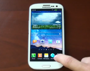 Galaxy S III Jelly bean vs. Ice Cream Sandwich - YouTube