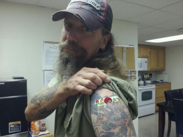 Critter after Flu Shot