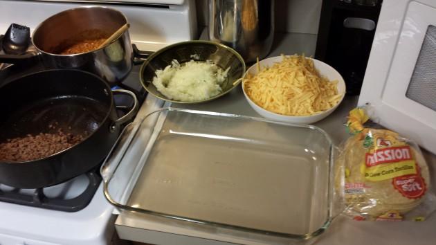 Mace Enchiladas