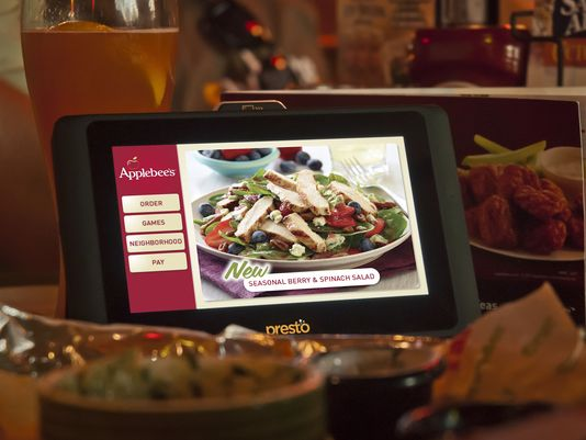Applebee's Tablet